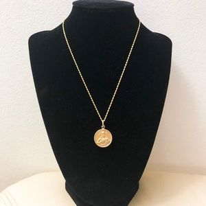 Jewelry - 18k Genuine Gold Double Face Coin Necklace
